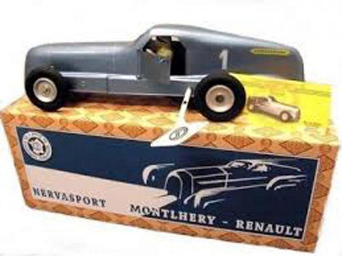 Vintage CIJ Renault Nervasport France Tinplate tin toy
